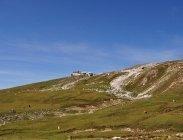 thumbs schlernruecken mit den schlernhaeusern Naturpark Schlern Rosengarten: Compatsch   Saltnerhütte   Schlernhaus   Tierser Alpl   Compatsch